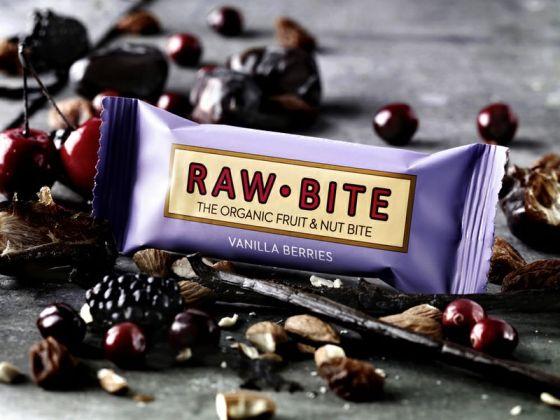 raw bite  vanila berries