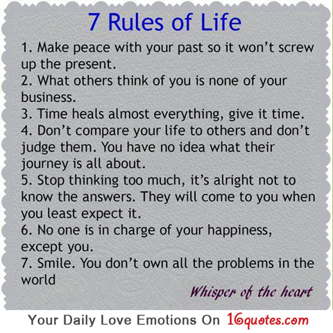 rules-of-life-quotes