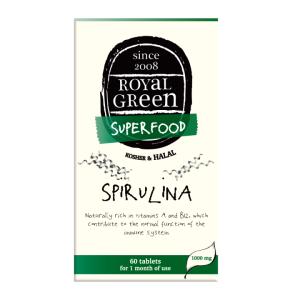 Spirulina i tabletter Royal Green